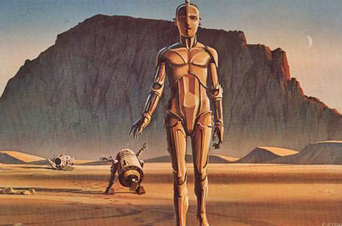 McQuarrie C-3PO and R2-D2
