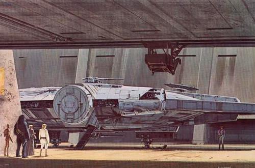 McQuarrie Millenium Falcon