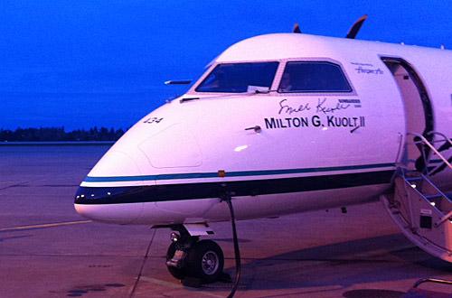 Milton's Plane