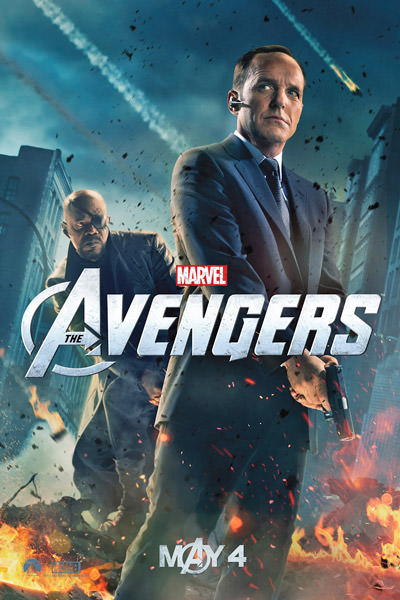 Avengers Agent Coulson Poster