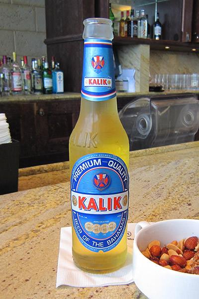 Bahamas Delicious Kalik Beer!