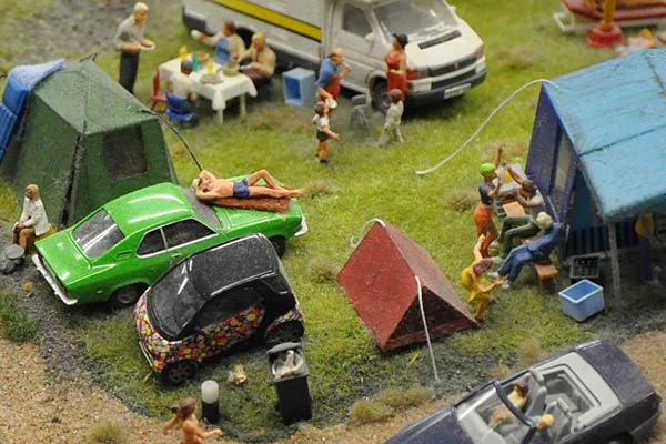 Miniatur Wunderland Camp Site