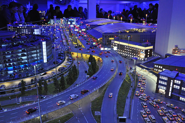 Miniatur Wunderland Night at the airport