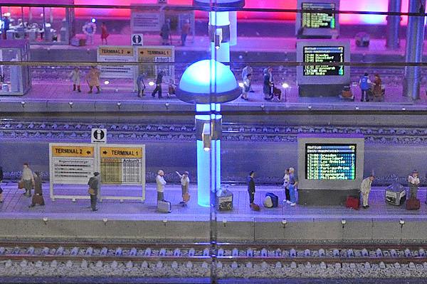 Miniatur Wunderland Subway Station