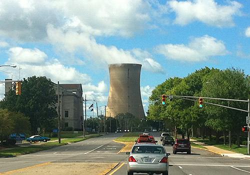 Looks like a nuclear reactor!