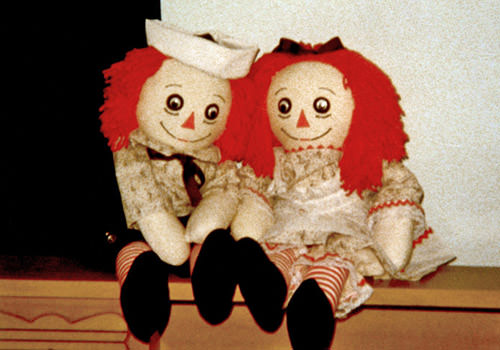 Scary Raggey Dolls