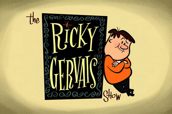 Ricky Gervais Show Intro Card