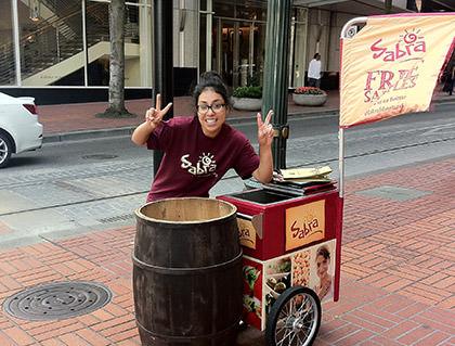 Sabra Hummus Free!