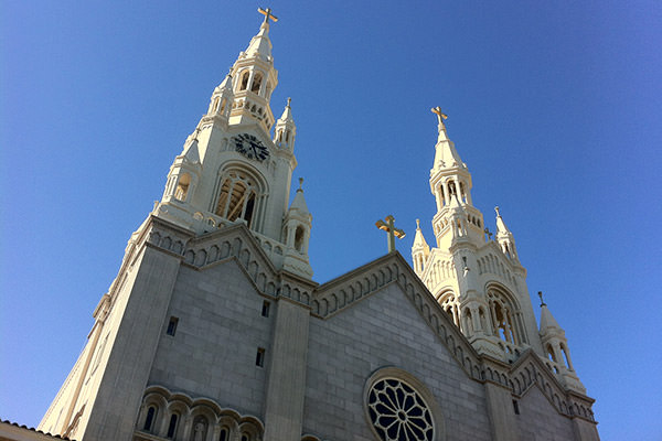 St. Peter and Paul Church in San Francisco