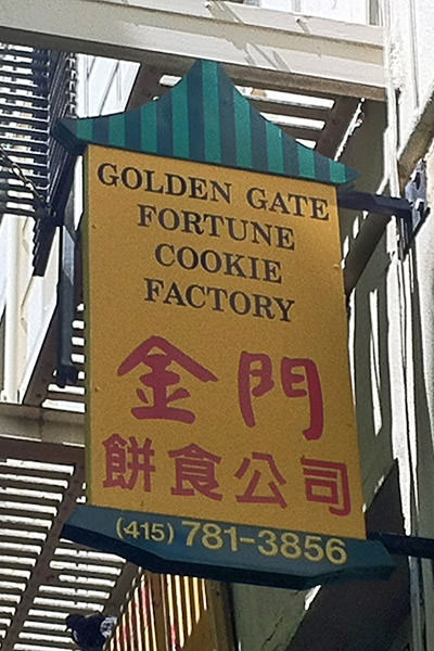 Golden Gate Fortune Cookie Factory!