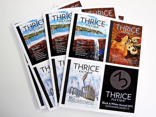 THRICE Fiction B&W Annual