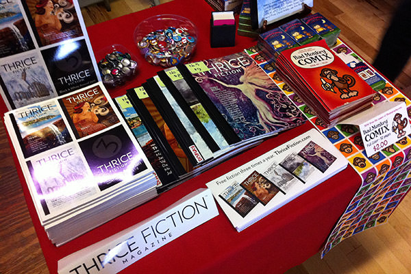 THRICE Fiction Table