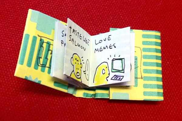 Tiny Monkey Book