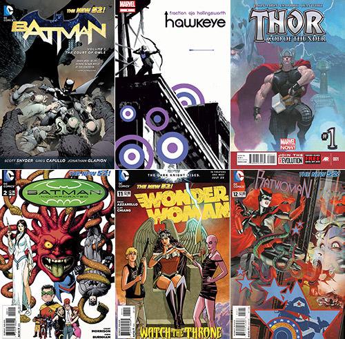 Best Comics 2012 Part 1