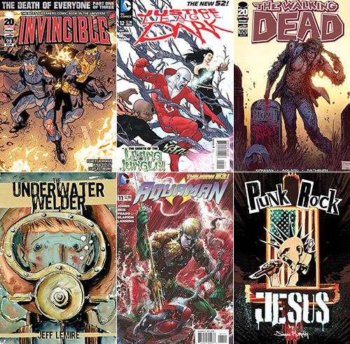 Best Comics 2012 Part 2