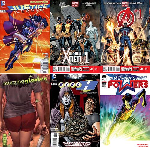 Comics 2012 Part 3