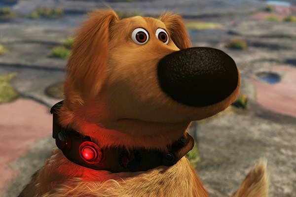 Dug says SQUIRREL!!