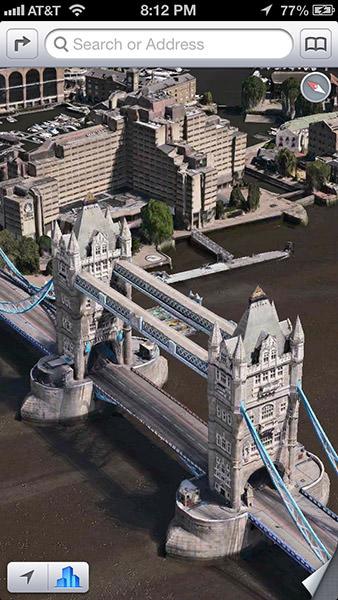 Flyover London Bridge