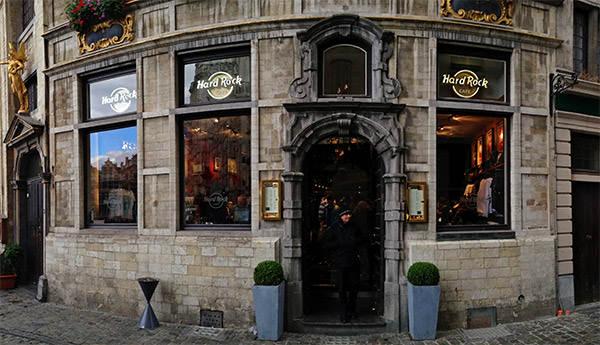 Hard Rock Brussels Exterior