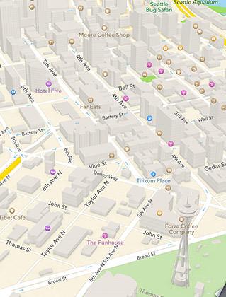 Maps Seattle Geometry
