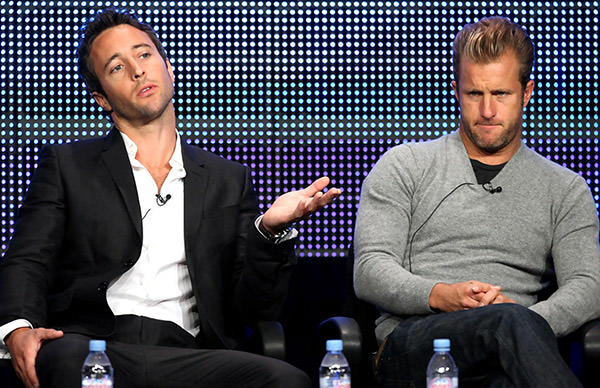 Alex O'Laughlin and Scott Caan