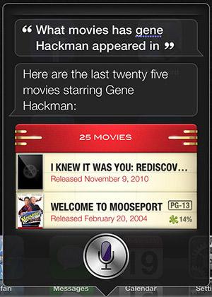Siri Movies
