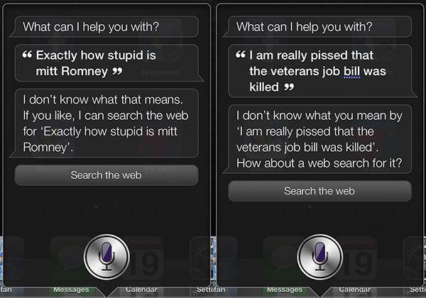 Siri How Stupid is Mitt Romney