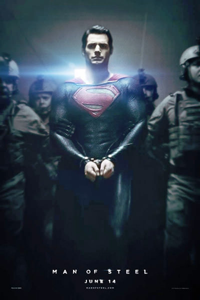 Man of Steel Shitty Movie Poster