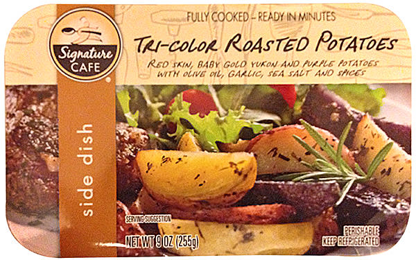 Tri-Color Potatoes