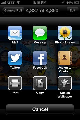 iOS 6 Share Me!