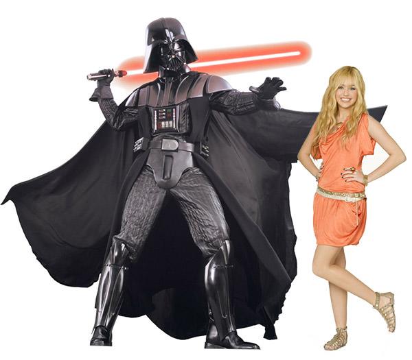 Darth Vader VS Hannah Montana