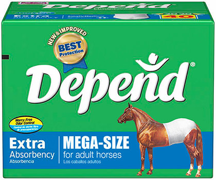 Horse Depends Extra!