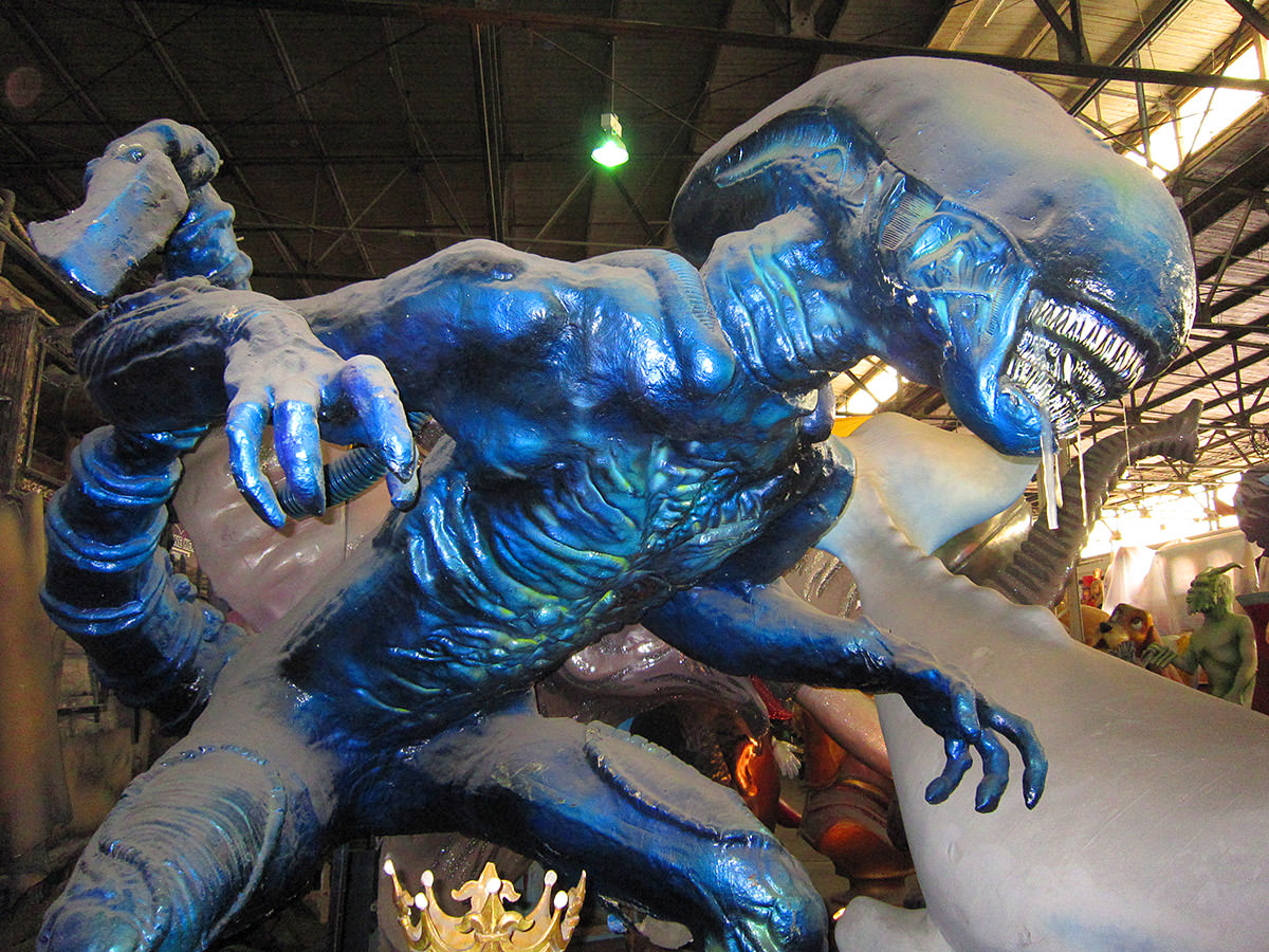 Mardi Gras World ALIEN Prop