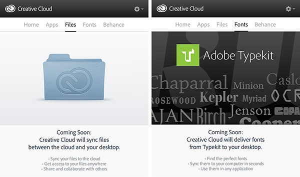Adobe Coming Soon!