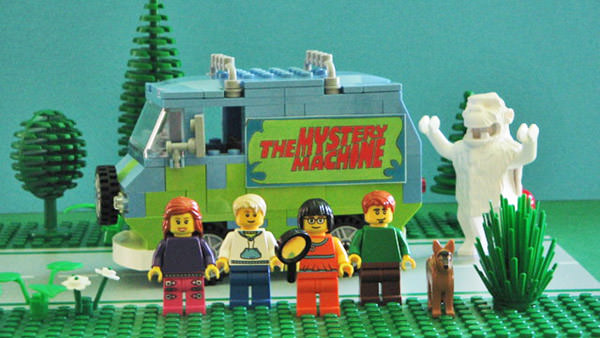 Cuusoo Scooby Doo Set