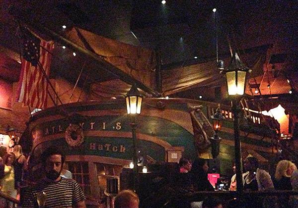 Dante's Ship
