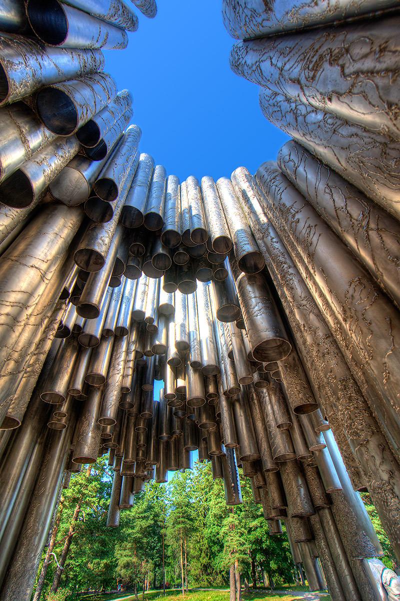 Jean Sibelius Monument Inside