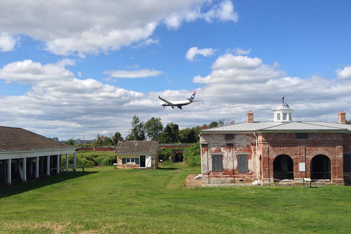 Ft. Mifflin Plane