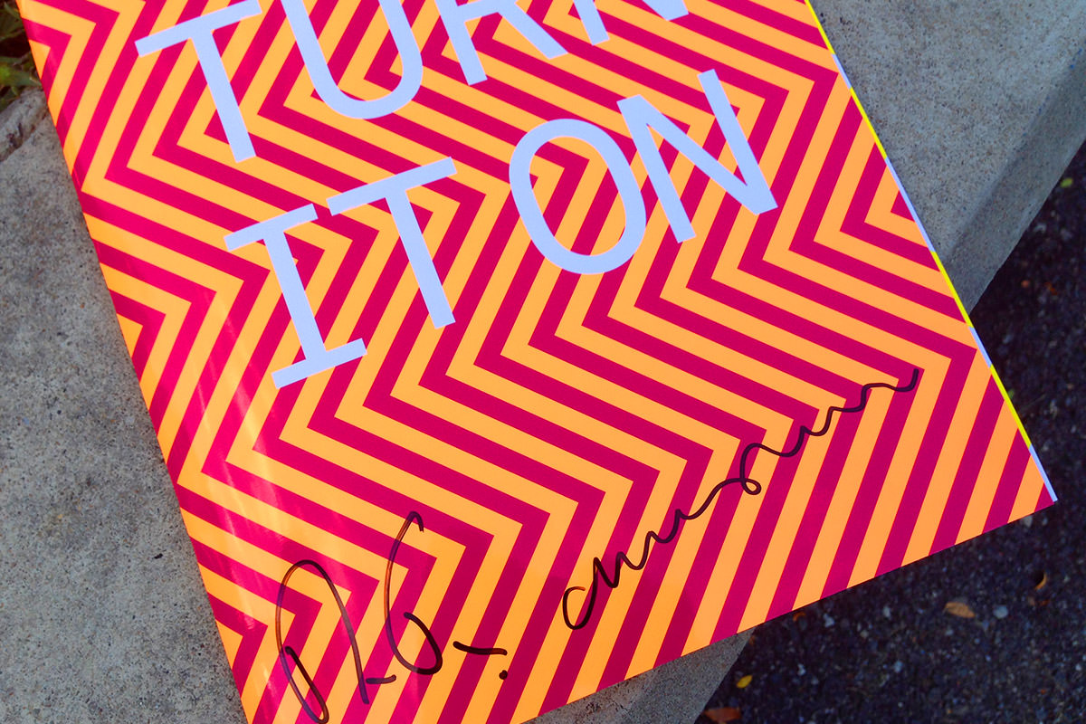 Pet Shop Boys Program Signed!