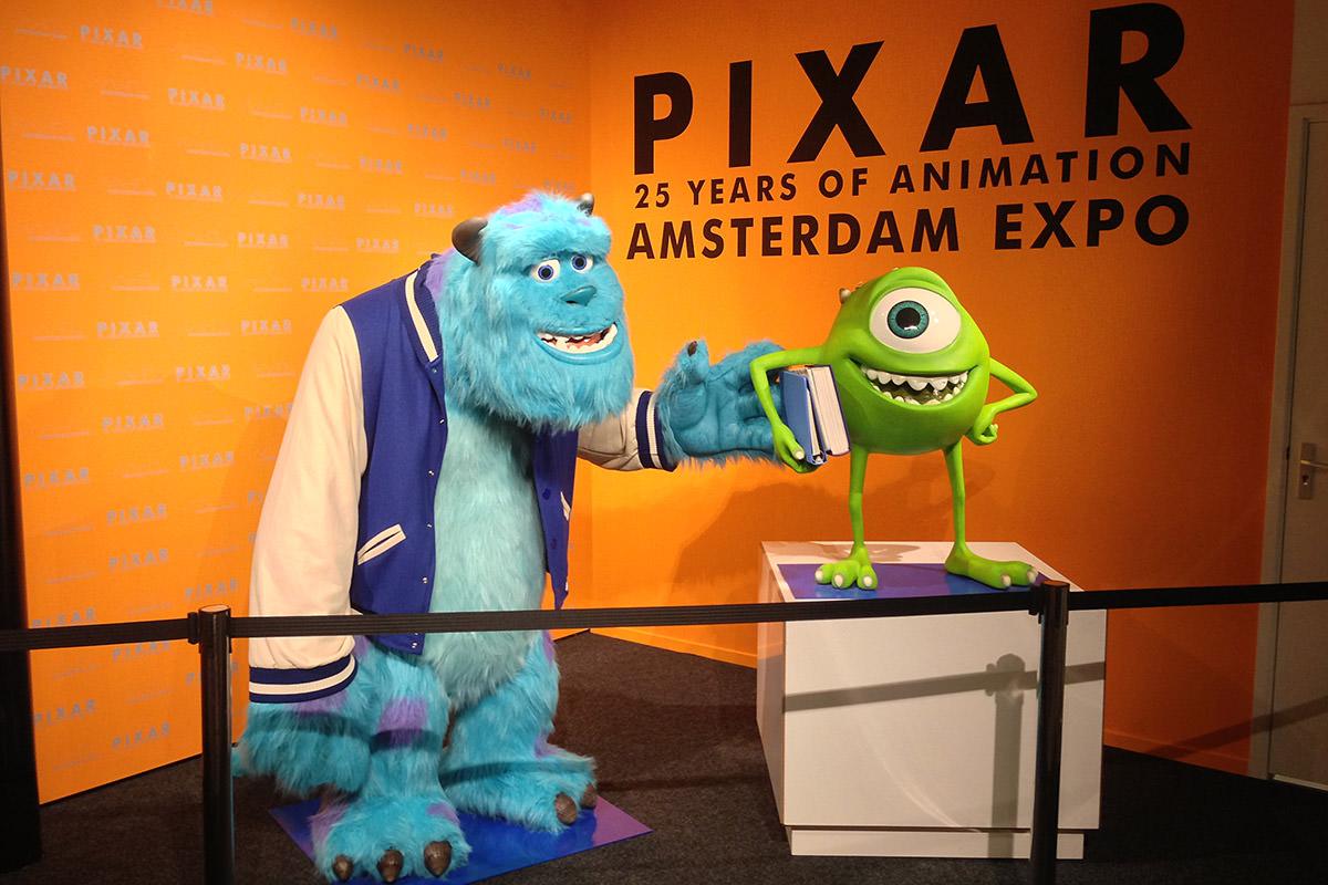 Pixar Amsterdam Expo