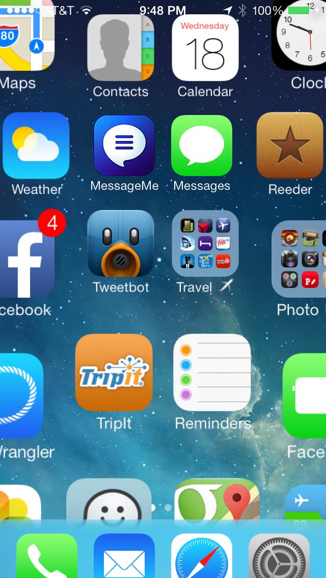 IOS7 Icon Zoom!