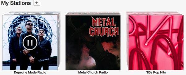 iTunes Radio My Stations