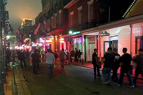 Bourbon Street Thursday