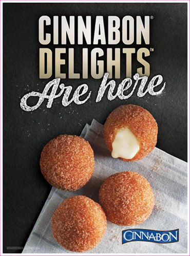 Cinnabon Delights by Taco Bell