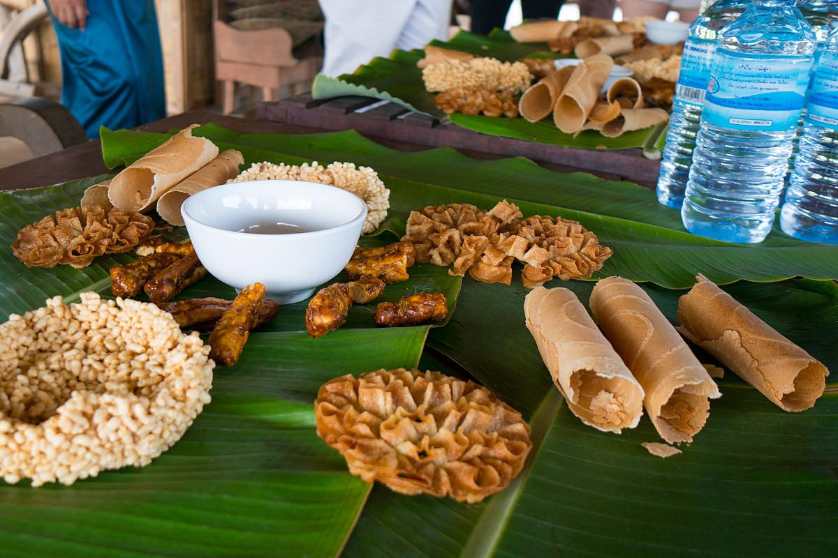 Living Land Rice Farm in Laos Rice Snacks