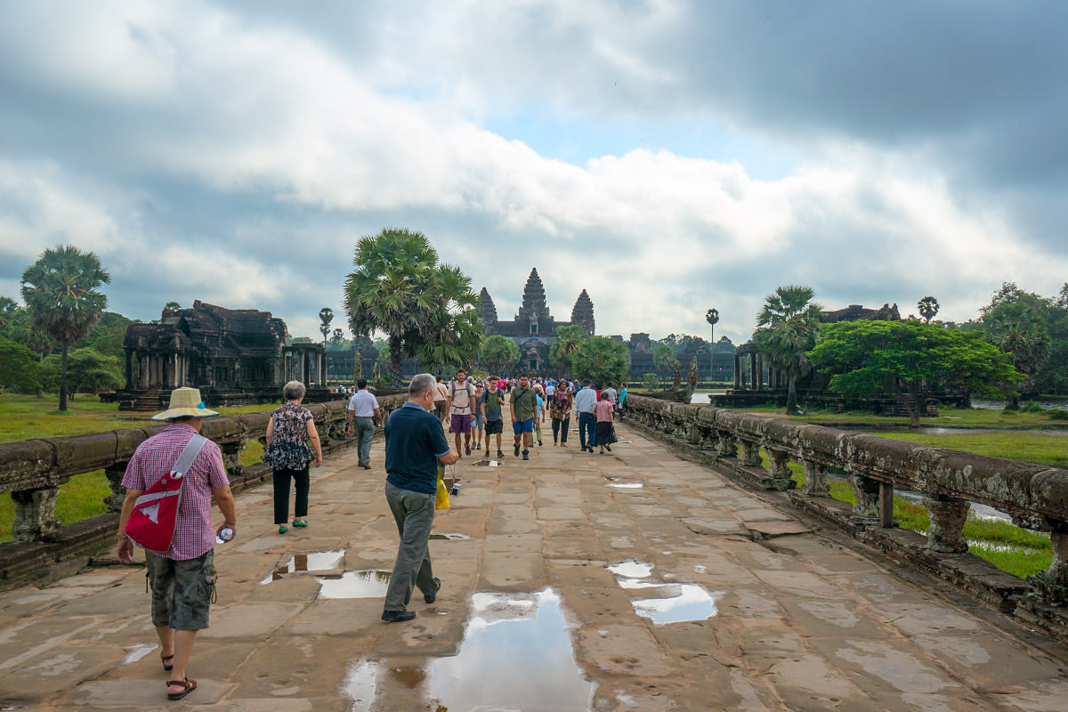 Angkor Wat Approach