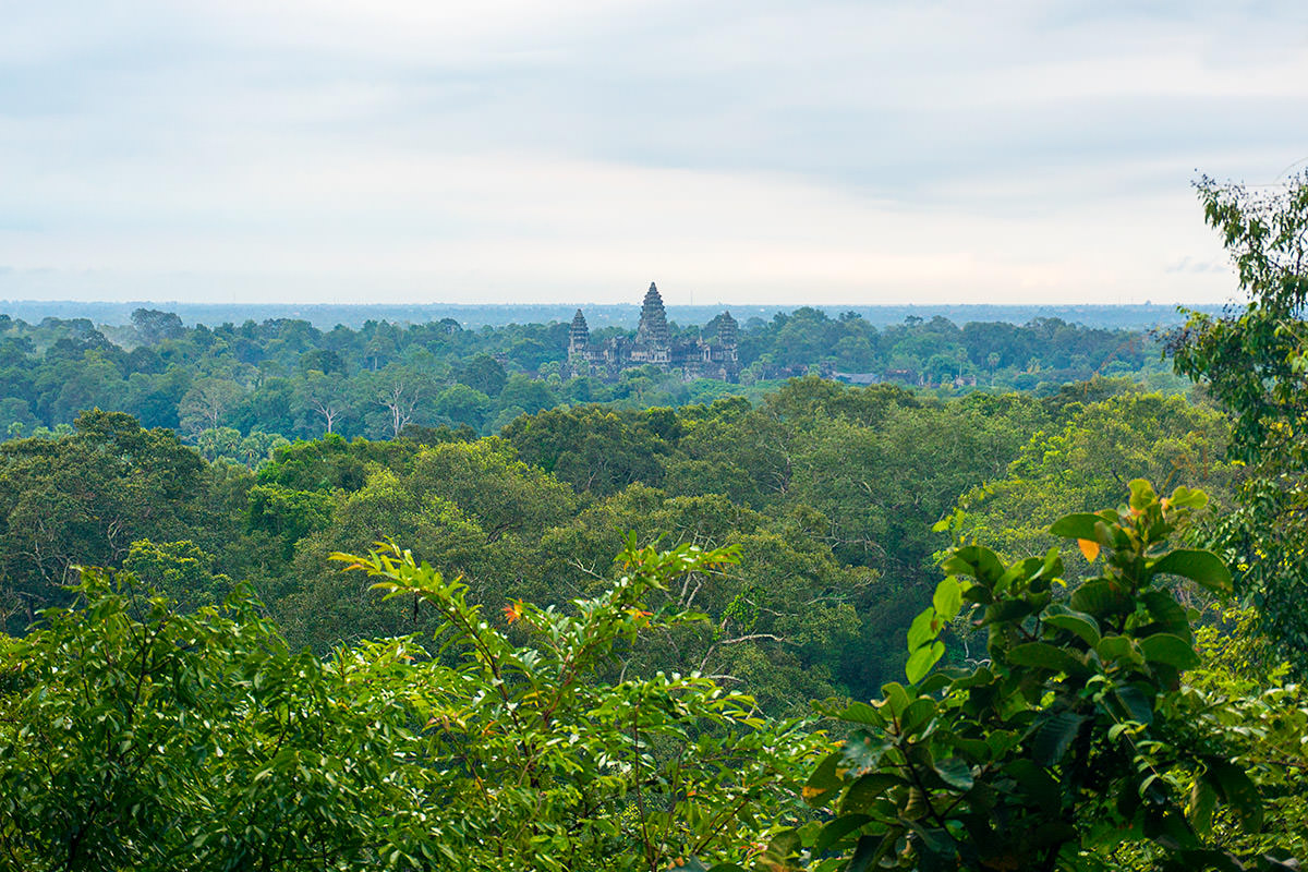 Phnom Bakheng Angkor Wat View