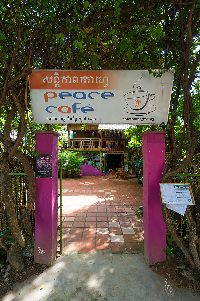 Peace Cafe, Siem Reap, Cambodia