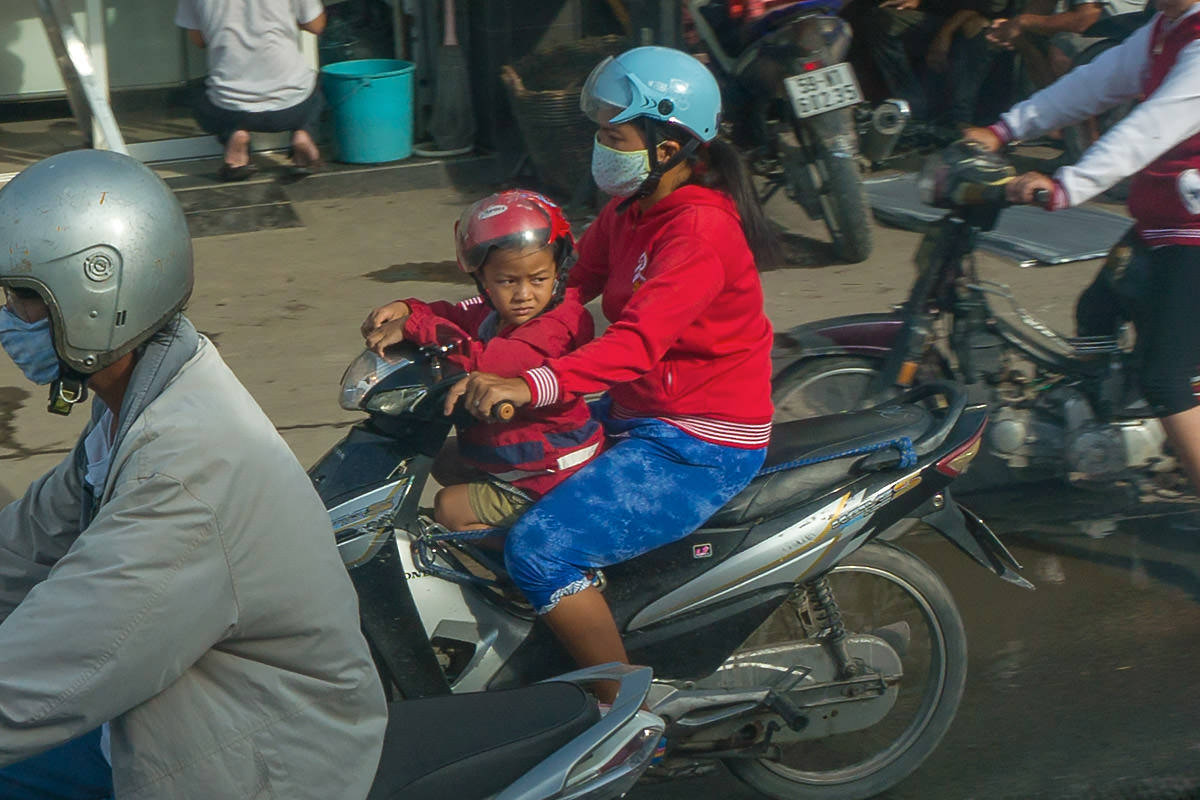 Motorcycle Momma... Literally