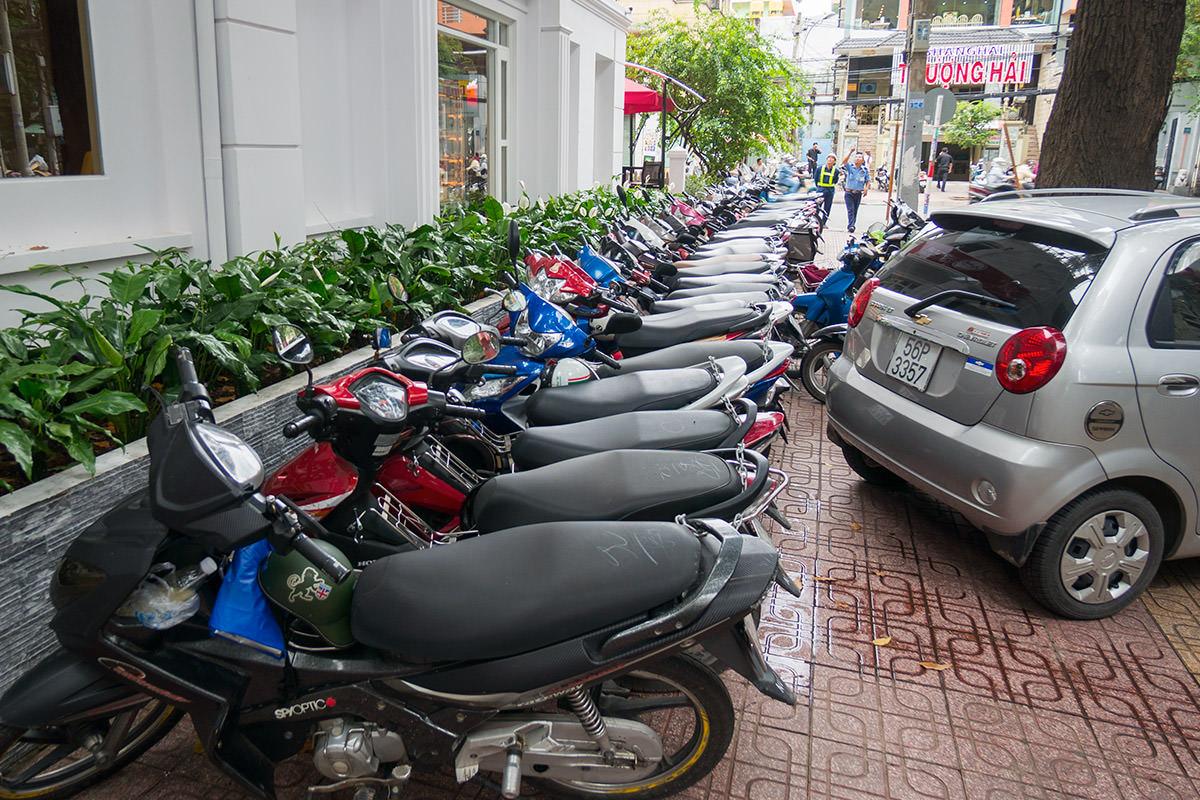 Saigon Sidewalk